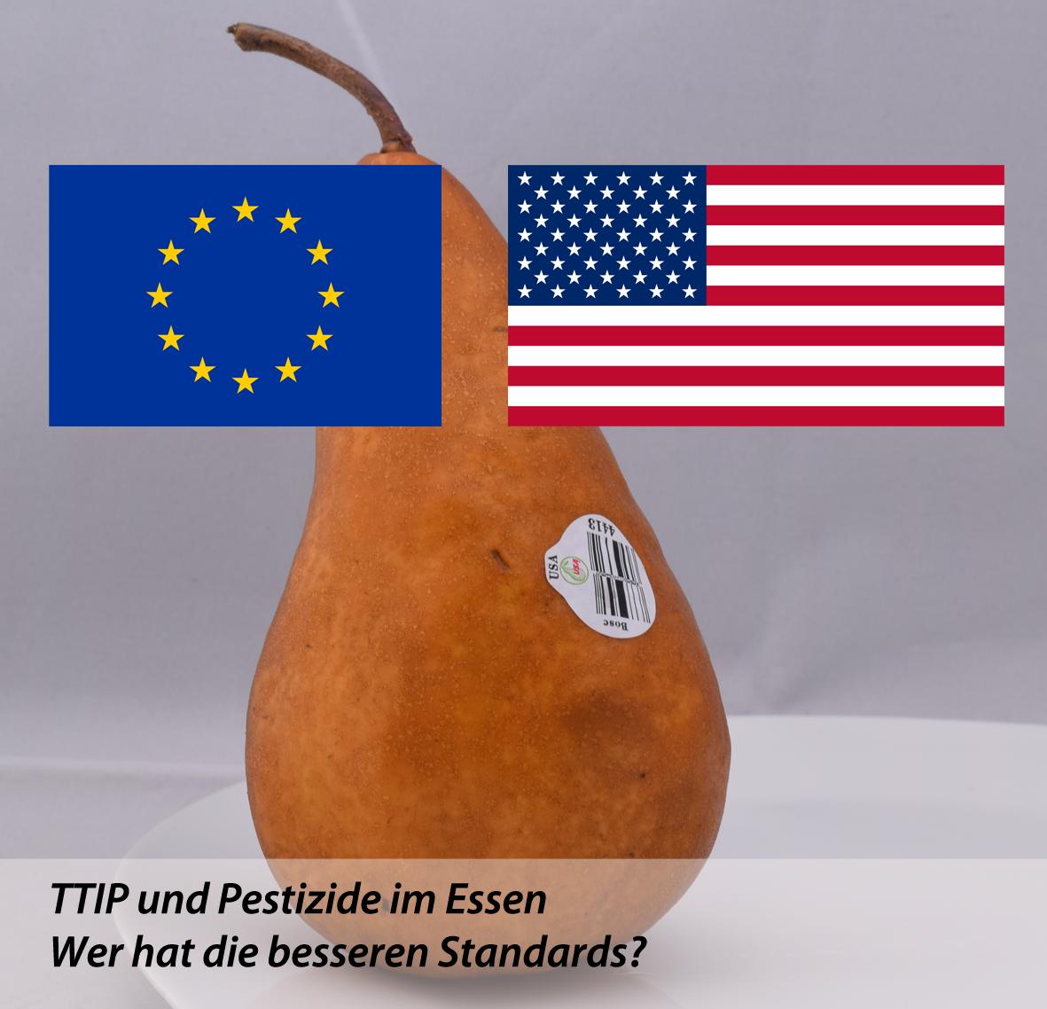 TTIP Und Pestizide Im Essen
